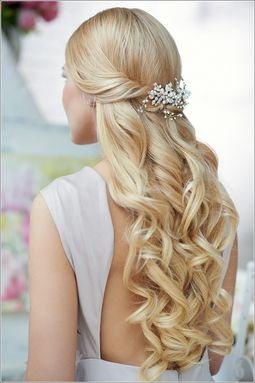 Wedding-Hair-Half-Up-With-Tiara-And-Veil-Help-Me-D...